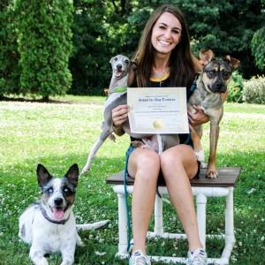 dog trainer school graduate success stories