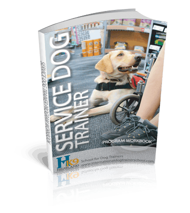 service dog trainer school book