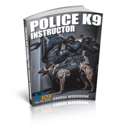 police k9 instructor course book