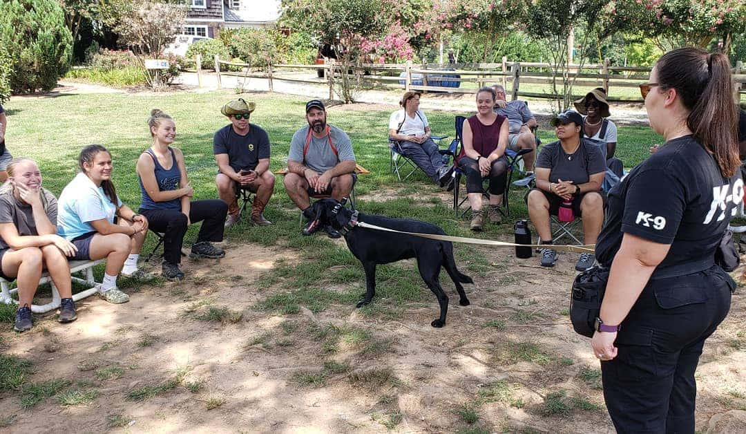 hrd dog training lecture