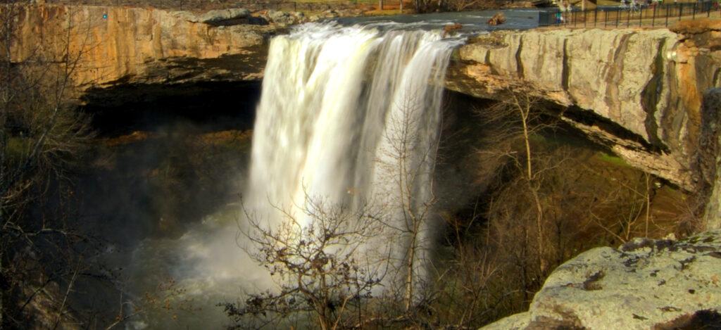 Noccalula Falls gadsden alabama